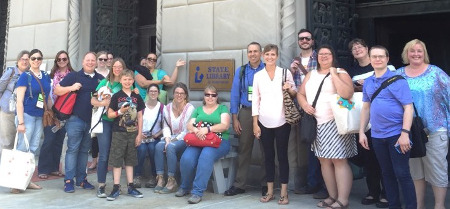 ILEAD 2016 Tour of the State Library of PA