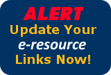 E-resources Alert Box